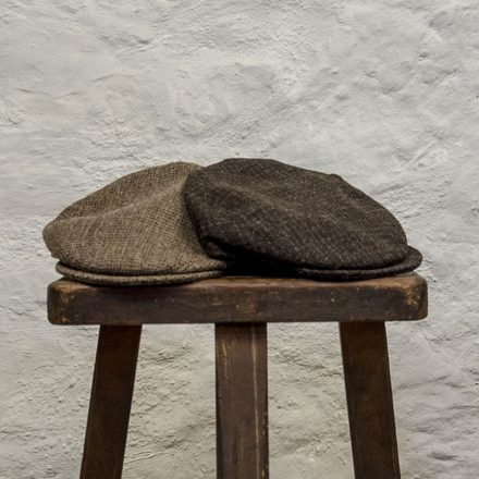 Ardalanish Mill, Isle of Mull, Tweed Flat Caps, group