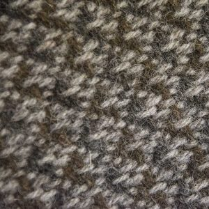 Ardalanish Mill, Isle of Mull,Manx and Silver Basalt Blanket, swatch