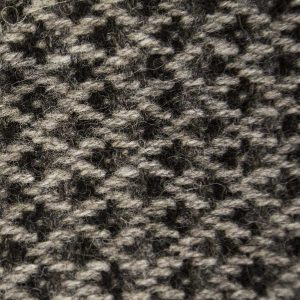 Ardalanish Mill, Isle of Mull, Hebridean Silver Basalt Blanket, colour swatch
