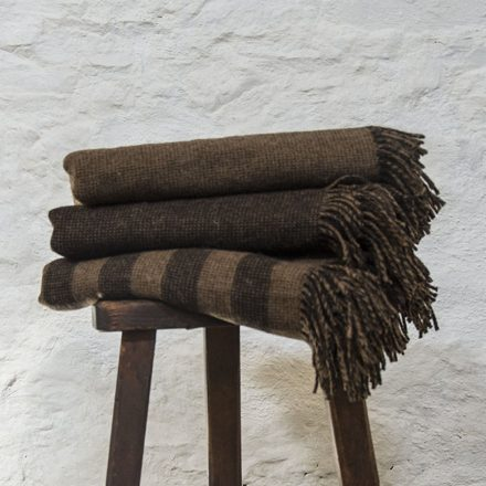Ardalanish Mill, Isle of Mull, Salt and Pepper Blanket stack