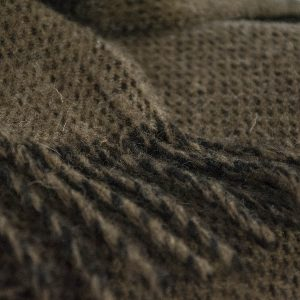 Ardalanish Mill, Isle of Mull, Manx Salt and Pepper Blanket, Swatch