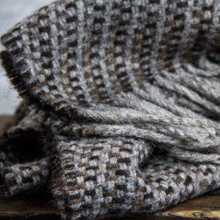 Ardalanish Mill, Isle of Mull, Arran scarves, Hebridean manx Detail