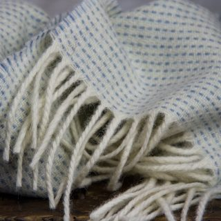 Ardalanish Mill, Isle of Mull, Light Flecked Scarves,Detail