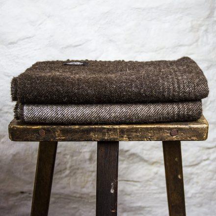 Ardalanish Mill, Isle of Mull, Brown Ombre wrap, Stack