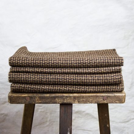 Ardalanish Mill, Isle of Mull, Manx and Hebridean basket weave wrap, stack