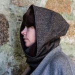 Ardalanish Mill, Isle of Mull, Tweed Cowl, hood