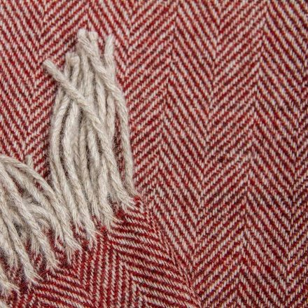 Ardalanish Mill, Isle of Mull, Wide scarf detail