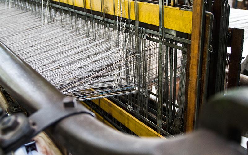 Ardalanish Mill, Isle of Mull, Weaving loom