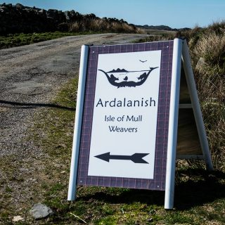 Ardalanish mill, Isle of Mull, Sign