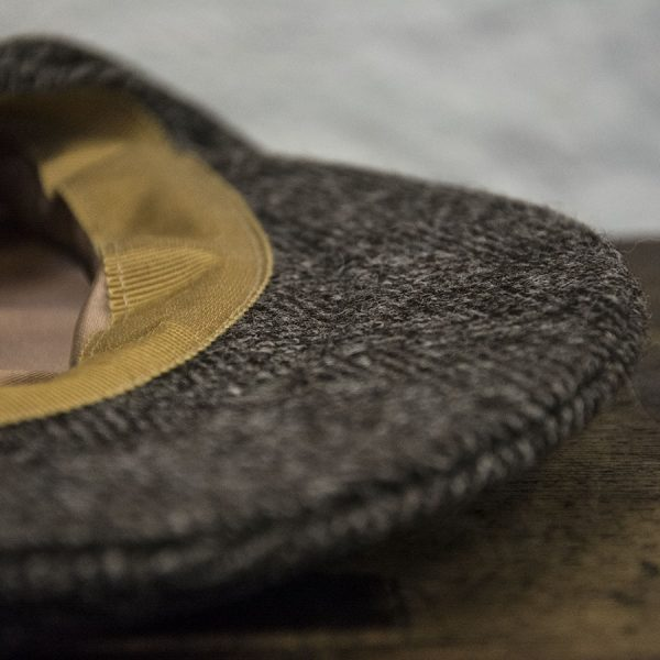 Ardalanish Mill, Isle of Mull, Tweed Flat Caps, Close-up
