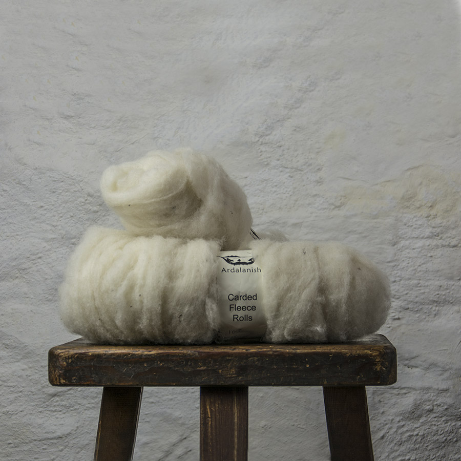 Ardalanish Mill, Isle of Mull, carded Fleece