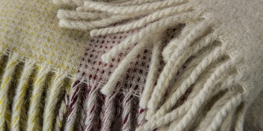Ardalanish Mill, Isle of Mull, Homeware, Blanket Close-up